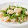 11中国料理 豪華楼_金針蝦仁 芝エビと金針菜の炒め